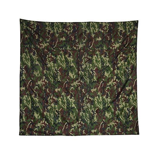 Tarnnetz Camouflage Netz 1.5x2 2x2 3x3m Camouflage Net/Netting Wasserdicht Camping Shelter Zelt Plane, Tarnung Tragbare Leichte Regendichte Matte RainTent Tarp Shelter Strand Picknick Decke Mat