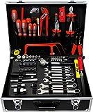 Famex Werkzeug 759-65 Werkzeugkoffer, Koffer 125-teilig