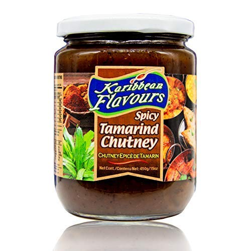 Premium Spicy Tamarind Chutney Sauce 15 Oz (Tamarind) - Great Dipping Sauce For Samosas   Topping For Fish   Makes Sandwiches Taste Better