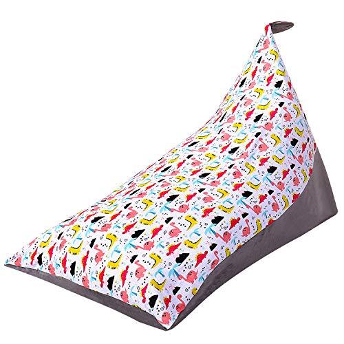 Stuffed Animal Bean Bag Chair Kids Toy Storage Organizer Stuffie Seat,Extra...