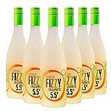 Fizzy Frizzante Verdejo - Vino Espumoso - Caja de 6 Botellas x 750 ml