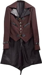 BLESSUME スチームパンク 大人用 ロング ジャケット コート