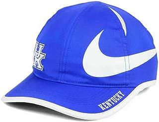 Dri-Fit Featherlight Mens Kentucky Wildcats NCAA Big Swoosh Hat Blue