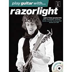 Play Guitar With... Razorlight (Book and CD). Partitions, CD pour Tablature Guitare