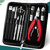 GYZCZX Juego de cortaúñas especiales con ranura para uñas, tijeras para uñas de los pies, cuchillo de pedicura, alicates de olécranon, alicates de punta de aguja para el hogar, herramienta de artefact