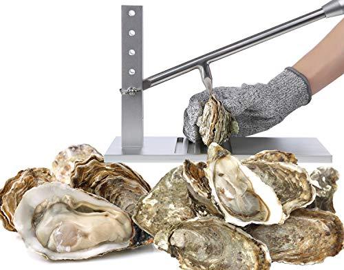 Stainless Steel Oyster Shucker - 5892 Oyster opener Knife Set Heavy...