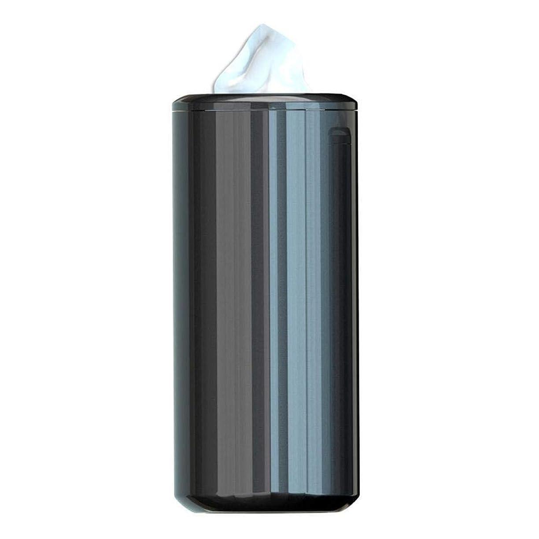 アナログ電話する不健全DYQYQDJP ティッシュケース 車のティッシュボックスアームレストタイプの車紙箱ホームラウンドシルバーチューブの交換プラスチック