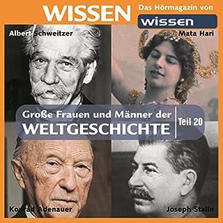 Große Frauen und Männer der Weltgeschichte (Teil 20) Titelbild