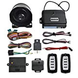 BANVIE Car Security Alarm System with Microwave Sensor & Shock Sensor