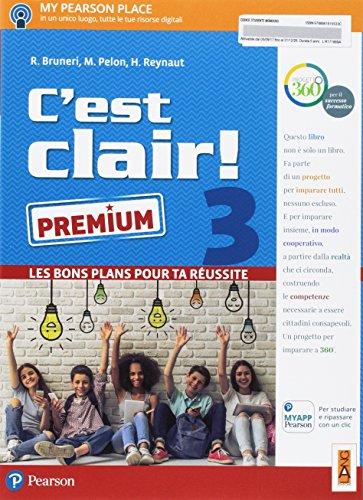 C'est clair! Les bons plans pour ta réussite. Ediz. premium. Per la Scuola media. Con e-book. Con espansione online [Lingua francese]: 3