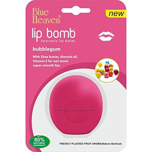 Blue Heaven Lip Bomb Heavenly Lip Balm, Bubble Gum, 8g