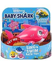 ZURU Robo Alive Junior Juego DE BAÑO A LA Licence Baby Shark Daddy