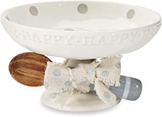 Mud Pie Happy Candy Dish Set of 2