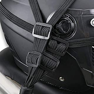 ELECTROPRIME Motorcycle Helmet Strap Black 60cm Accessories Replacement Bike Luggage