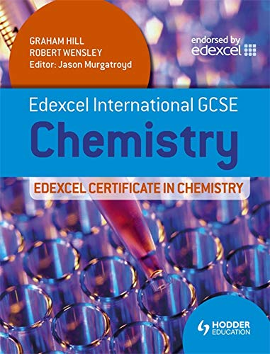 Edexcel International GCSE and Certificate Chemistry Student's Book & CD