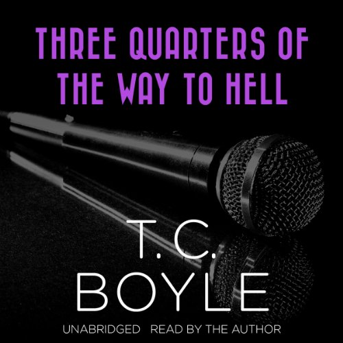 Three Quarters of the Way to Hell audiobook cover art
