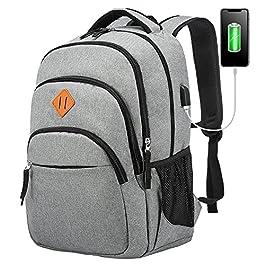 LOVEVOOK Sac à dos pour homme et femme avec compartiment pour ordinateur portable 15,6 pouces, sac à dos élégant avec…