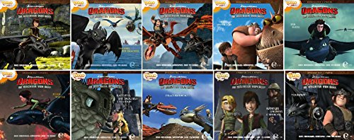 Dragons - die Wächter von Berk - Das Original Hörspiel zur TV-Serie - Folge 11-20 im Set - Deutsche Originalware [10 CDs]