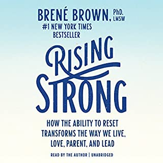 Page de couverture de Rising Strong