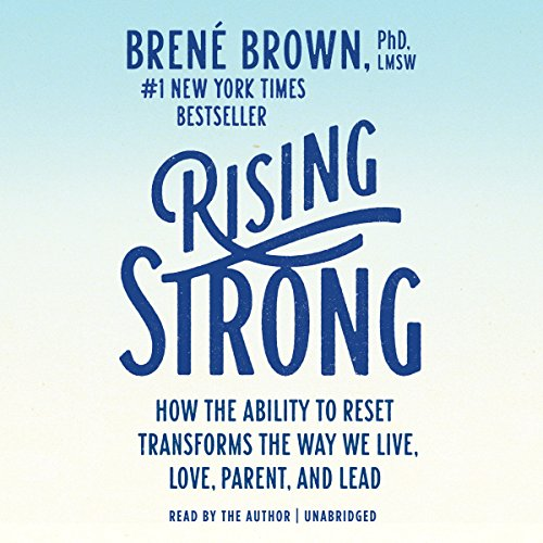 Rising Strong audiobook cover art