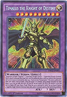 YU-GI-OH! - Timaeus The Knight of Destiny (DRL2-EN001) - Dragons of Legend 2 - 1st Edition - Secret Rare