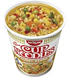 Nissin Cup Noodles Curry, 4er Pack (4 x 67 g Becher) -