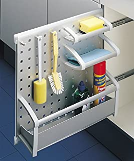 Pull out cabinet organizer by Hafele with Deep Tray Aluminum