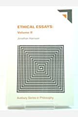 Ethical Essays (Avebury Series in Philosophy) Hardcover