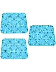 EXCEART 3Pcs Mandala Mallen Siliconen Mandala Alfabet Mallen Diy Sleutelhanger Mallen Epoxy Mallen Voor Koelkast Magneten Telefoon Grips Ornamenten