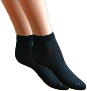Fontana Calze, 6 paia di Mini Calza caviglia DONNA in cotone Filo di Scozia elasticizzato.