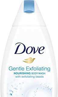 Dove Gentle Exfoliating Nourishing Body Wash 190 ml (Free Loofah)
