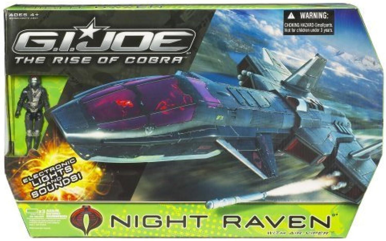Envíos y devoluciones gratis. Gi Joe Joe Joe Movie 3.75 Echo Vehicle Night Raven with Air Viper by Hasbro  mejor reputación