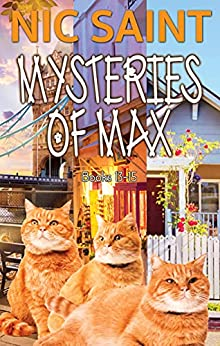 The Mysteries of Max: Books 13-15 (The Mysteries of Max Box Sets Book 5) by [Nic Saint]