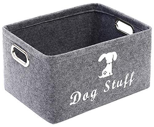 Geyecete Dog Apparel & Accessories/Dog toys/Pet supplies storage Basket/Bin...