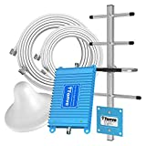 Cell Phone Signal Booster Home AT&T 2G GSM 3G CDMA 4G LTE Cellular Repeater 850MHz Band 5 Verizon FDD Mobile Cell Phone Signal Amplifier Boost Voice+Data with Antennas Kit