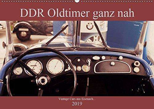 DDR Oldtimer ganz nah (Wandkalender 2019 DIN A2 quer): Klassische Autos aus DDR Produktion in besonderen Ansichten (Monatskalender, 14 Seiten ) (CALVENDO Mobilitaet)