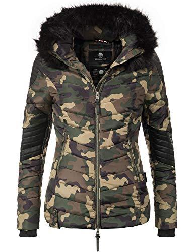 Marikoo dames winter jas gewatteerde jas Mamba (vegan geproduceerd) 6 kleuren XS-XL