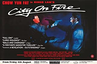 City on Fire Movie Poster (27,94 x 43,18 cm)