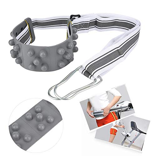 Universele loopbandmassage-heupgordel, 78,7 inch vibrerende stimulator Afslankgordel Body Shake Belt Shake Belt Belly Vibrating Heating Belt voor Gym Fitness Afvallen Gebruik Vetverbranding