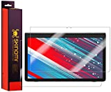 Skinomi Full Body Skin Protector Compatible with Samsung Galaxy View 2 (17.3 inch, SM-T927A)(Screen Protector + Back Cover) TechSkin Full Coverage Clear HD Film