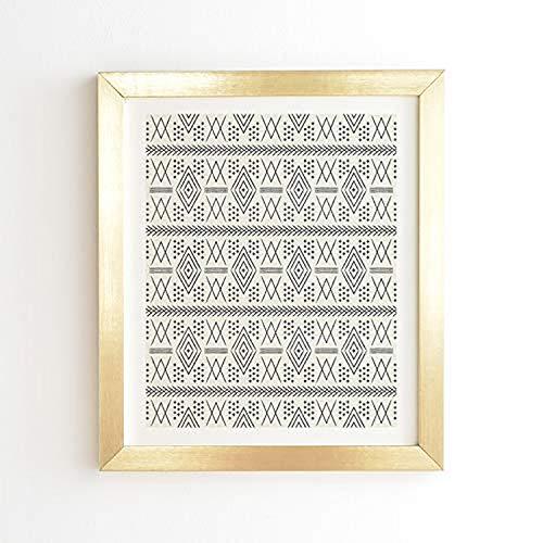 "Little Arrow Design Co Vintage Marokkanisches Poster Antik 14\"" x 16.5\"" Goldfarbener Rahmen"