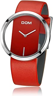 Women's Simple Style Watches Ladies Fashion Creative Hollow Wristwatch