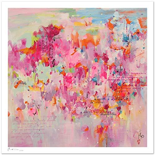 Reproducción de arte - Its time - sobre papel de acuarela 300g/m² con textura, de alta calidad: Amazon.es: Handmade