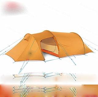 Nytt 2–4 personers tunneltält ultralätt familj resor camping tält 4 säsonger vandring stort utrymme bärbara tält