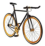 Big Shot Bikes | Blackout Gold | Track Bike | Single Speed...