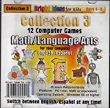 Collection 3 (12) Computer Games Math/Language (ages 4-8)