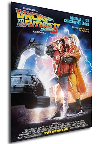 Instabuy Poster Back to The Future II (Regreso al Futuro) Vintage Movie Poster - A3 (42x30 cm)
