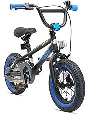 "BIKESTAR Bicicleta Infantil para niños y niñas a Partir de 3 años   Bici 12 Pulgadas con Frenos   12"" Edición BMX"