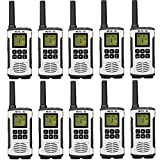Retevis RT45 Plus Talkie Walkie sans Licence 16 Canaux Professionnel Rechargeable PMR446...