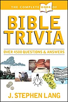 Paperback The Complete Book of Bible Trivia Book